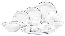 Lorren Home Trends Rio 57-Pc. Dinnerware Set, Service for 8