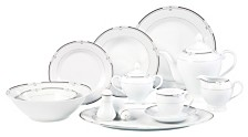 Lorren Home Trends Rio 57-Pc. Dinnerware Set, Service for 8