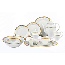 Catherine 57-Pc. Dinnerware Set, Service for 8