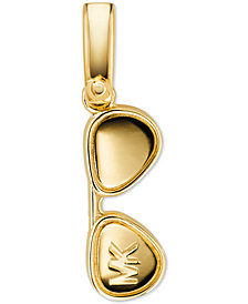 Michael Kors Women's Custom Kors 14K Gold-Plated Sterling Silver Sunglasses Charm