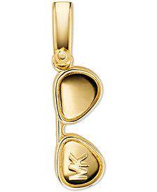 Michael Kors Women's Custom Kors 14K Gold-Plated Sterling Silver Sunglasses Charm