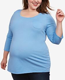 Motherhood Maternity Plus Size T-Shirt