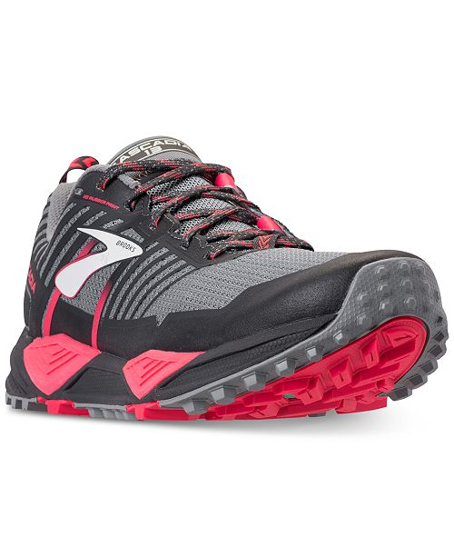 6bf8acd131524 Brooks Women s Cascadia 13 Trail Running Sneakers from Finish Line ...