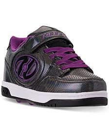 Heelys Little Girls' Bolt Plus X2 Light-Up Wheeled Casual Athletic Skate Sneakers from Finish Line