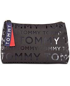 Tommy Hilfiger Foil Nylon Logo Pouch