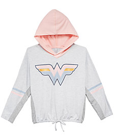 DC Comics Big Girls Wonder Woman Hoodie