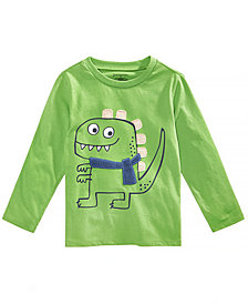 First Impressions Baby Boys Dino-Print Graphic Cotton T-Shirt, Created for Macy's