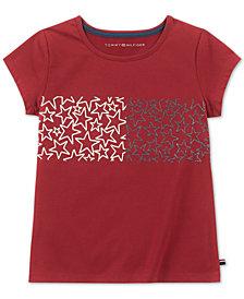 Tommy Hilfiger Big Girls Star-Print T-Shirt