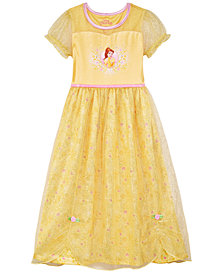 AME Little & Big Girls Disney Princess Belle Nightgown