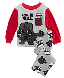 Star Wars Toddler Boys 2-Pc. Darth Vader Fleece Pajama Set