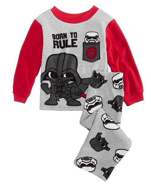 3b16e85f4 Star Wars Toddler Boys 2-Pc. Darth Vader Fleece Pajama Set ...
