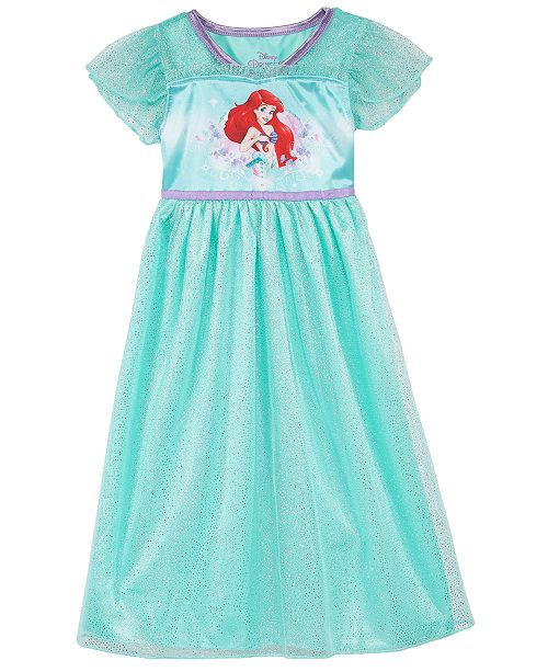 ee1a57e9de Disney Little   Big Girls Disney Princess Ariel Nightgown - Pajamas ...