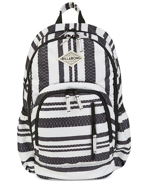 91fe93956 Billabong Striped Roadie Backpack & Reviews - Juniors - Macy's