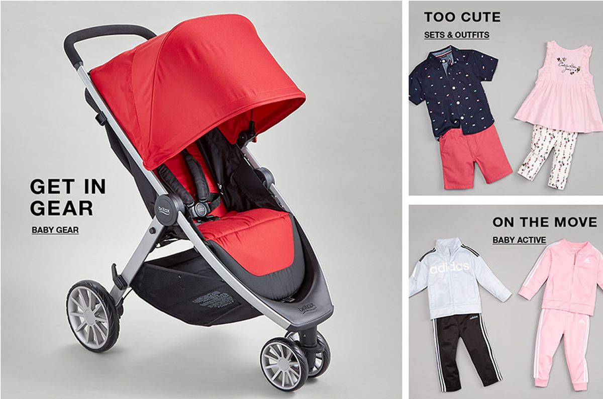 Get In Gear, Baby Gear, Too Cute, Sets and Outfits, on The Move, Baby Active