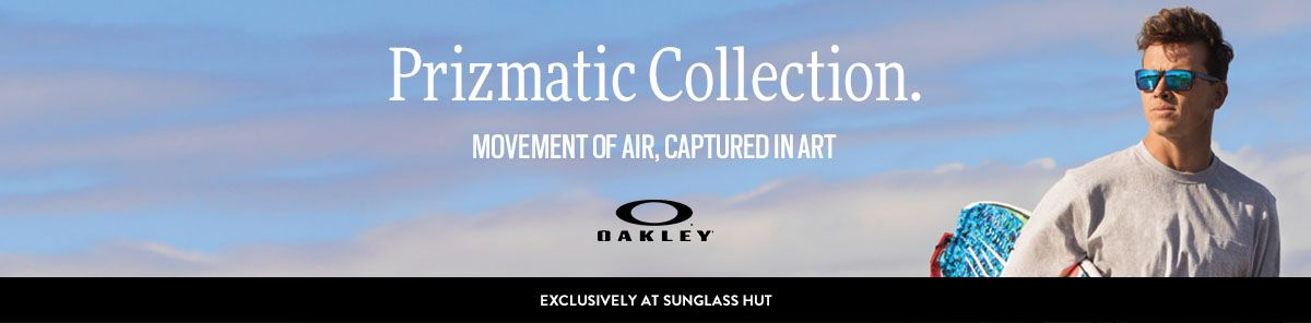 Prizmatic Collection, Movement of Air, Captured in Art, Oakley, Exclusively  at Sunglass f1dca043f4
