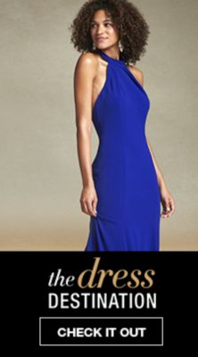 Dark Blue Dresses for Juniors