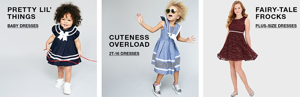 Pretty Lil Things, Baby Dresses, Cuteness Overload, 2t-16 Dresses, Fairy-Tale Frocks, Plus-Size Dresses