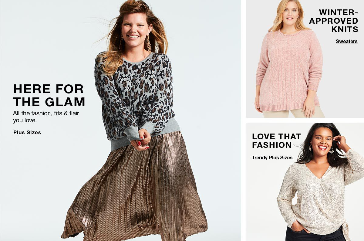 Here for The Glam, Plus Sizes, Winter Approved Knits, Sweaters, Love That Fashion, Trendy Plus Sizes