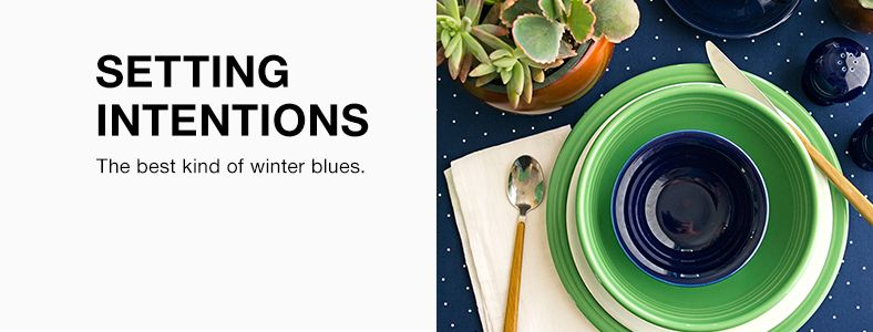 Setting Intentions, The best kind of winter blues