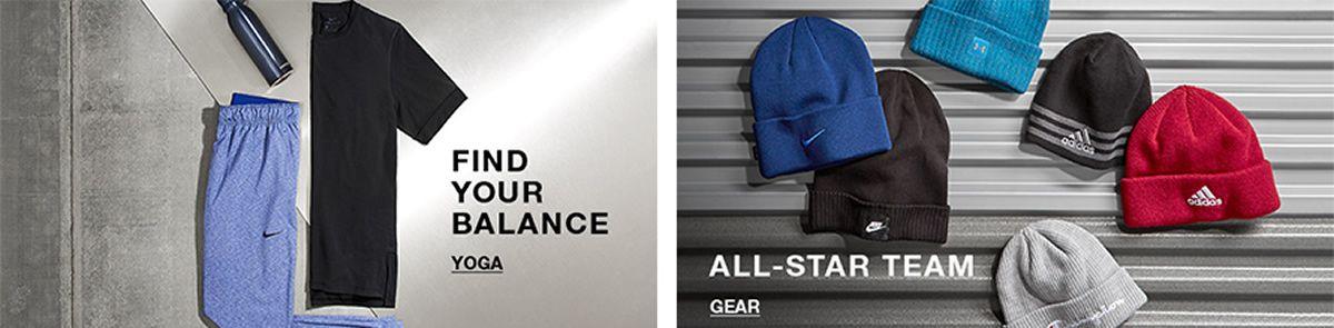 Find Your Balance, Yoga, All-Star Team, Gear