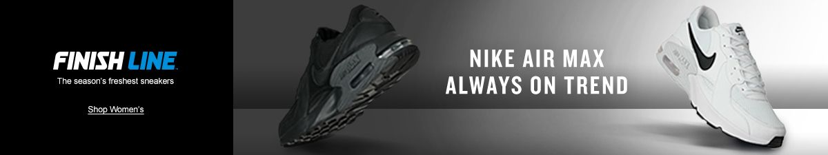 Finish Line, Shop Women's, Nike Air Max Always on Trend
