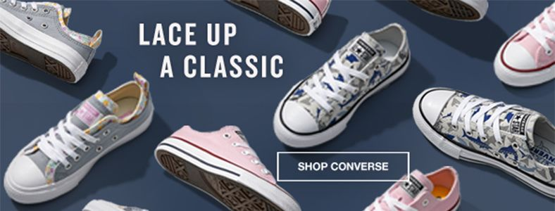 Lace up a Classic, Shop Converse