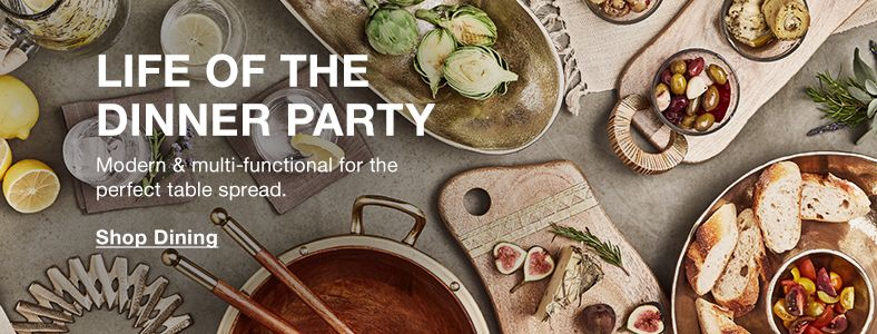 Life of the Dinner Party, Modern and multi-functional for the perfect table spread, Shop Dining
