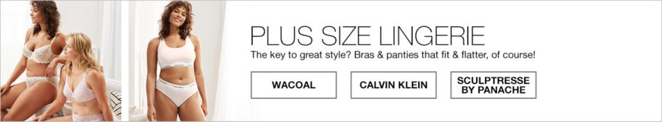 53a56f5c31 Calvin Klein Plus Size Lingerie - Macy s
