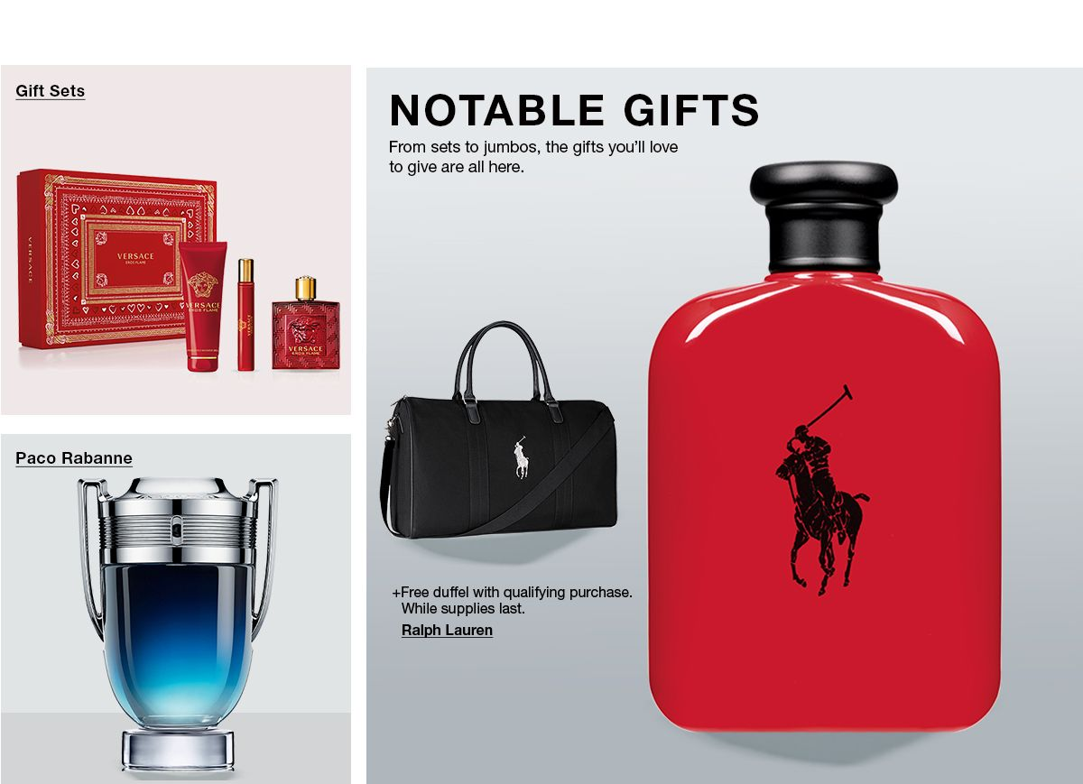 Gifts Sets, Paco Rabanne, Notable Gifts, From sets to jumbos, the gifts you;ll love to give are all here
