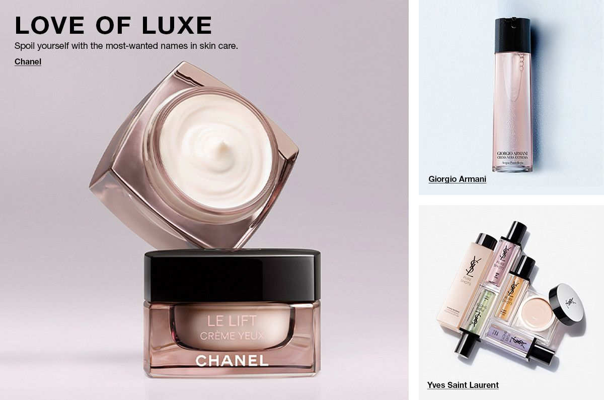 Love of Luxe, Chanel, Giorgio Armani, Yves Saint Laurent