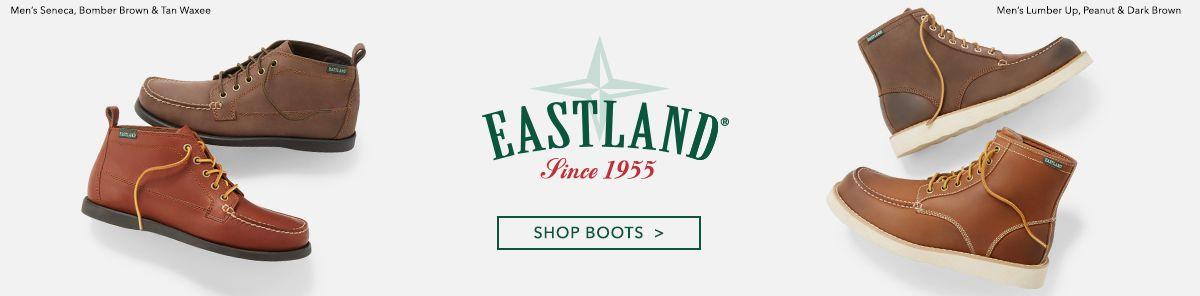 Eastland Since 1955, Shop Boots