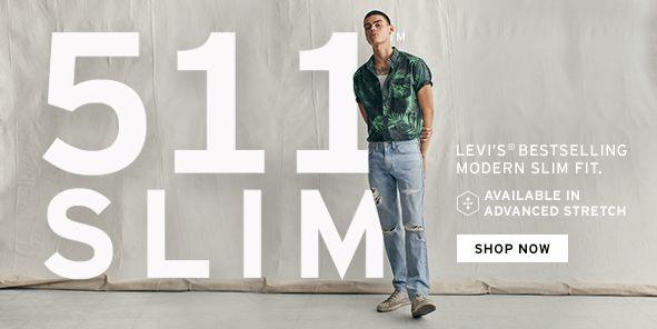 117bd73a39 511 Slim Fit Levis Jeans for Men - Macy s