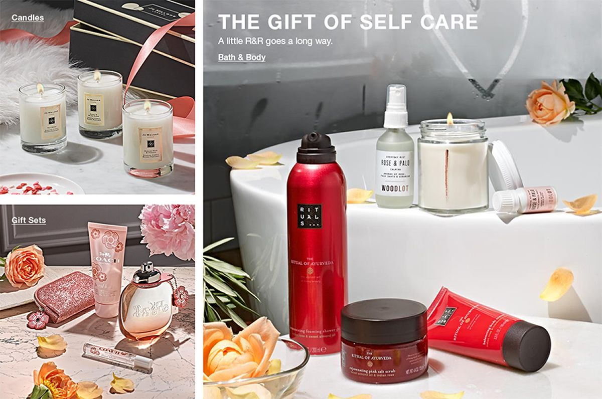 Candles, Gift Sets, The Gift of Self Care, Bath and Body