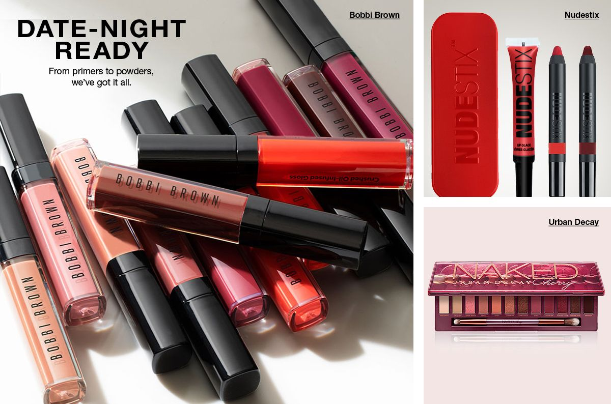 Date-Night Ready, From primers to powders, we've got it all, Bobbi Brown, Nudestix, Urban Decay