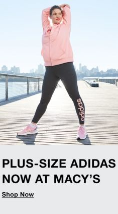 Plus-Size Adidas Now at Macy's, Shop Now