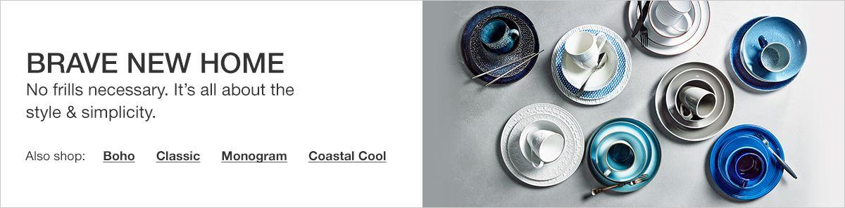 Brave New Home, Also shop: Boho, Classic, Monogram, Coastal Cool