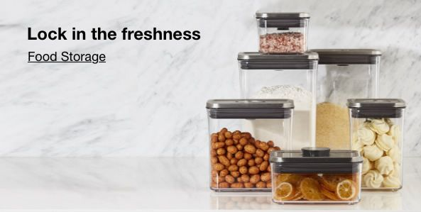 Lock in the Freshness, Food Storage