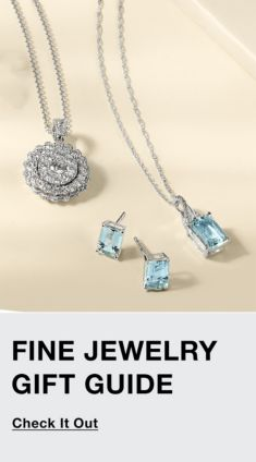 Fine Jewelry Gift Guide, Check It Out