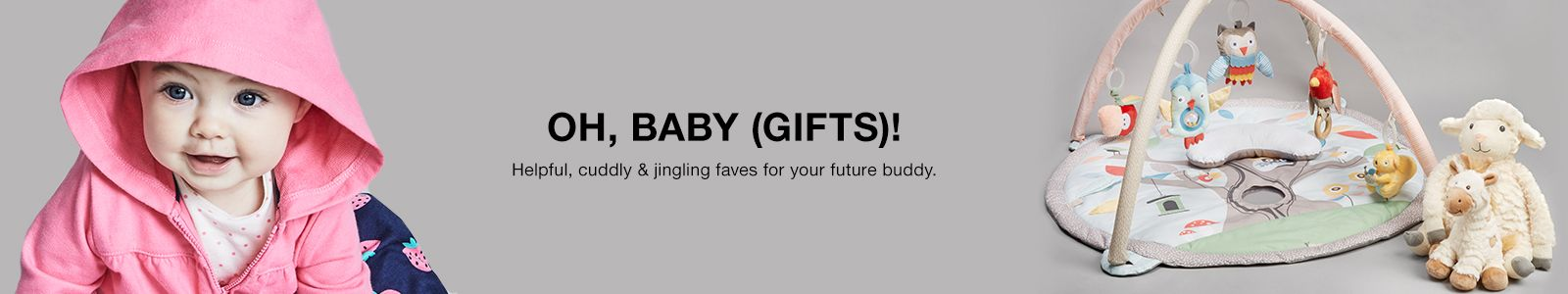 Oh, Baby (Gifts)! Helpful, cuddly and jingling faves for your future buddy
