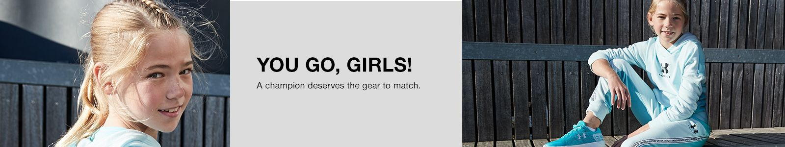 You Go, Girls! A champion deserves the gear to match