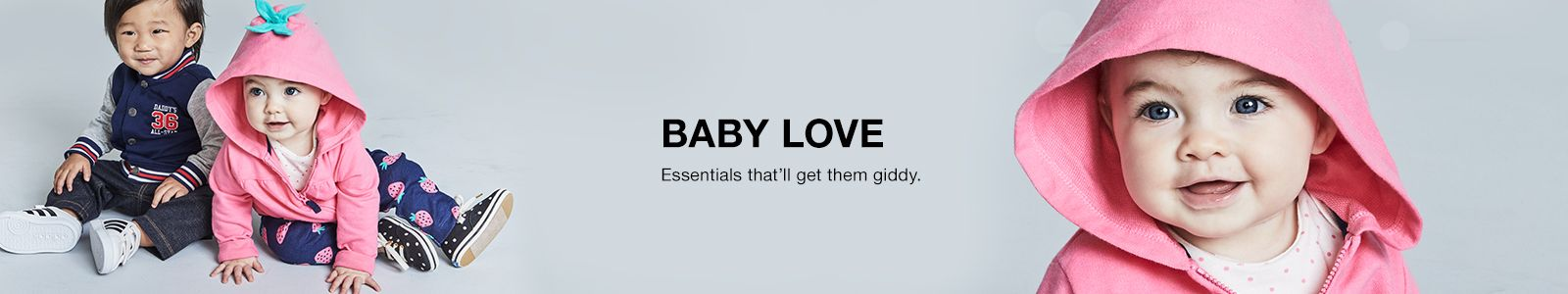 Baby Love, Essentials that'll get them giddy