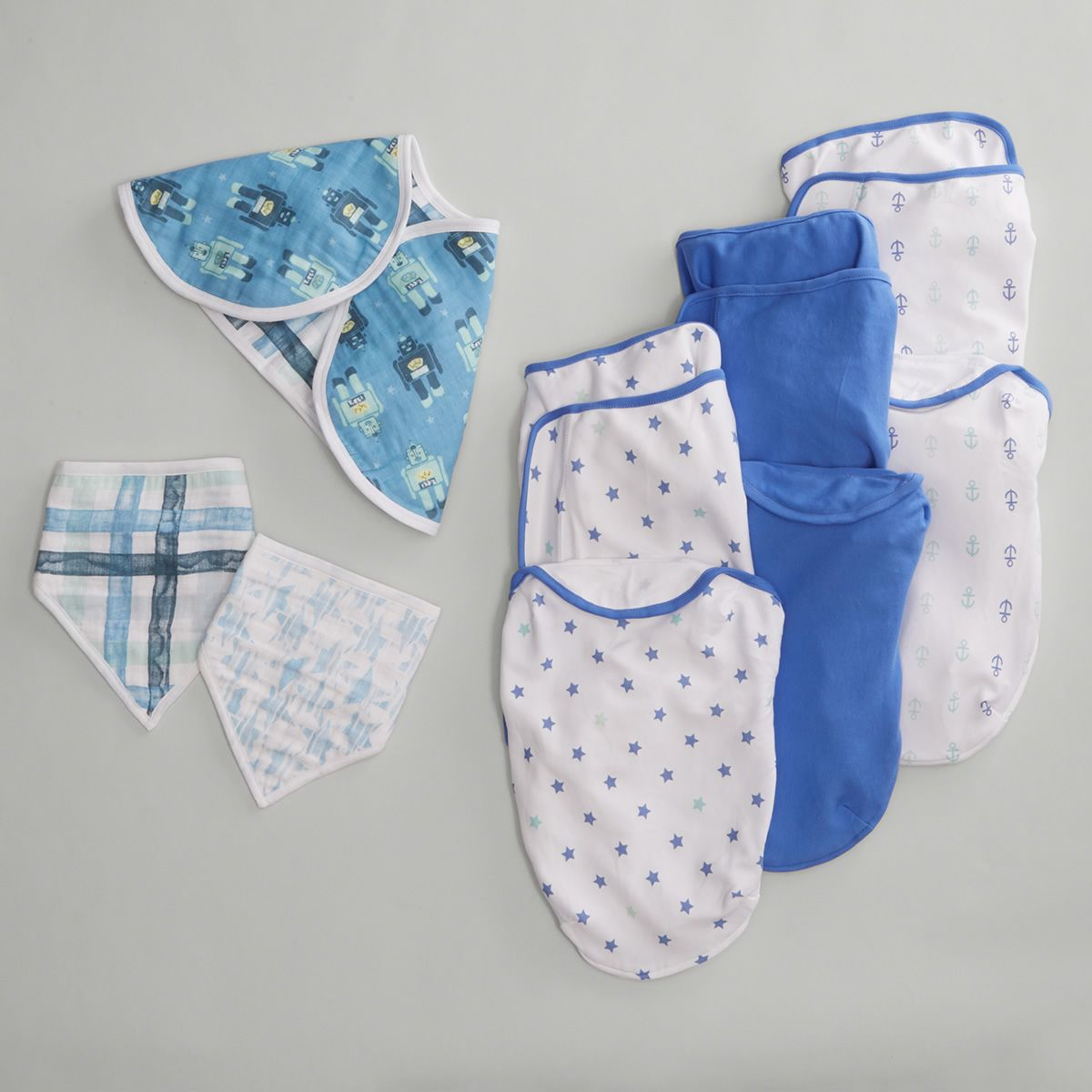 Bibs, Burp Cloths and More