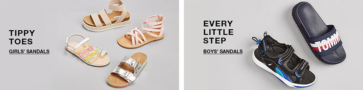 Tippy Toes, Girls' Sandals, Every Little Step, Boys' Sandals