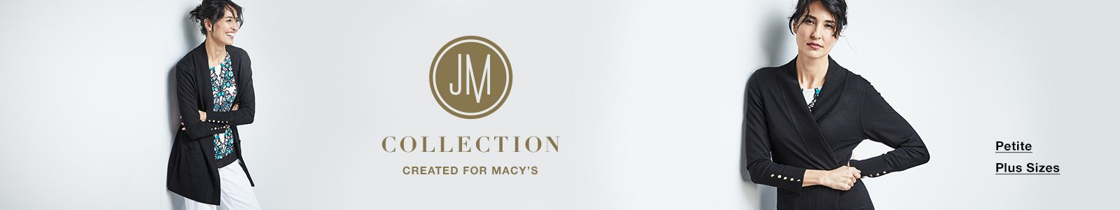 JM Collections, Created for Macy's, Petite, Plus Sizes