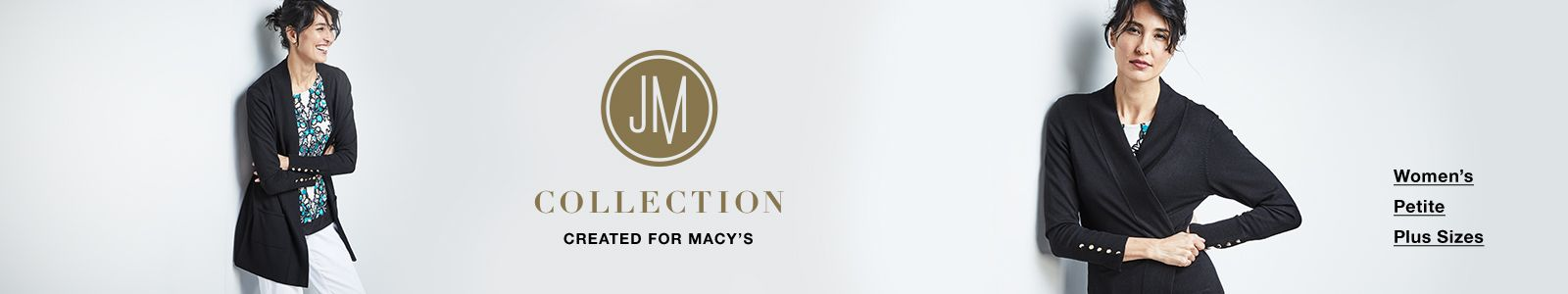 JM Collections, Created for Macy's, Women's, Petite, Plus Sizes
