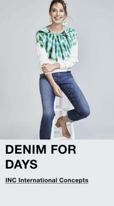 Denim for Days, INC International Concepts