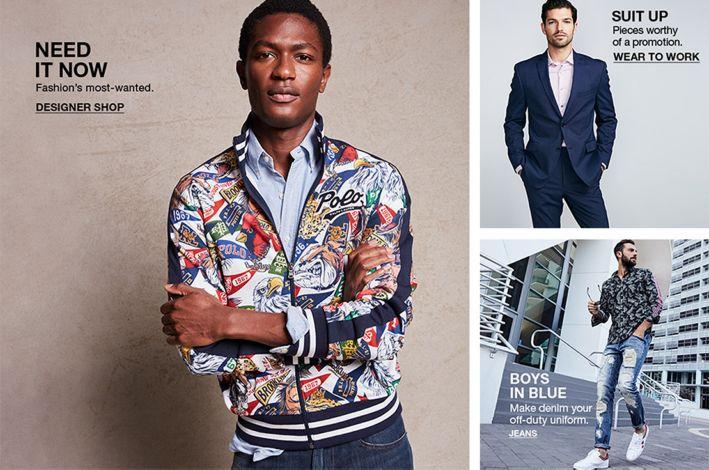6f52038ded Men s Clothing  The Best in Men s Fashion - Macy s