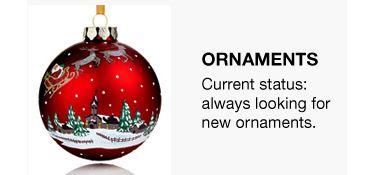 Christmas Ornaments Macy S