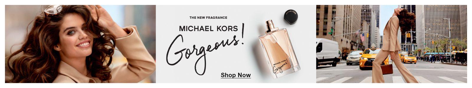 The New Fragrance, Michael Kors Gorgeous! Shop Now
