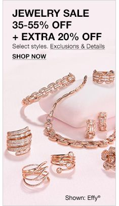 3ae4654cd91d20 Jewelry Sale, 35-55 percent Off + Extra 20 percent Off, Select styles